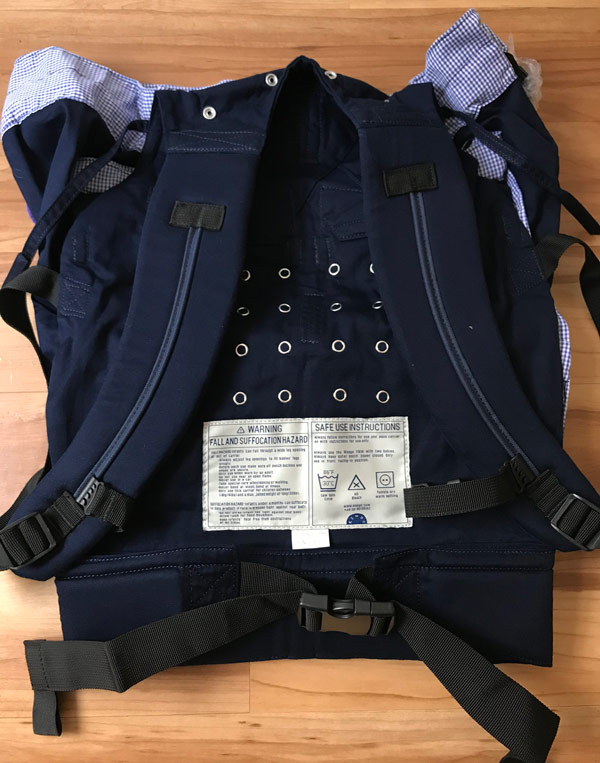 weego baby carrier instructions