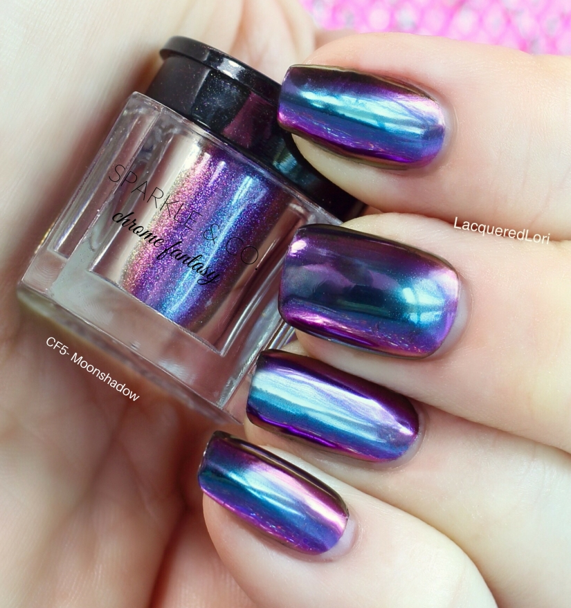 young nails chrome obsession instructions