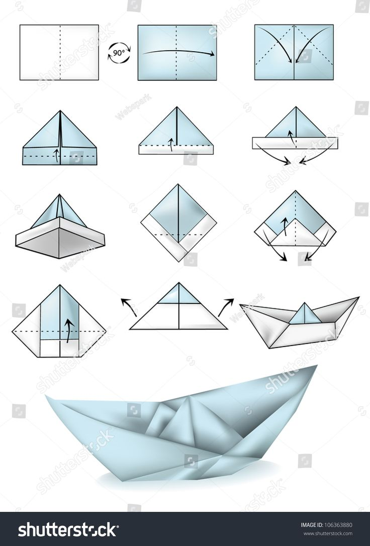 ing a paper boat instructions