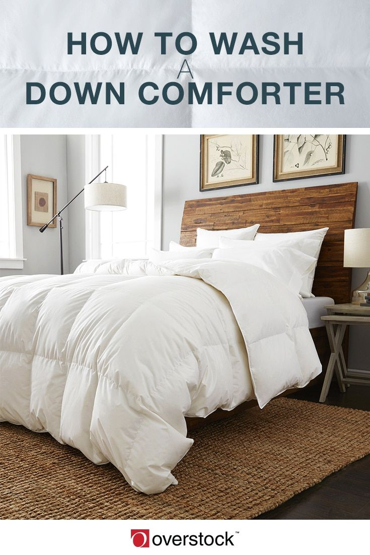 down comforter laundry instructions