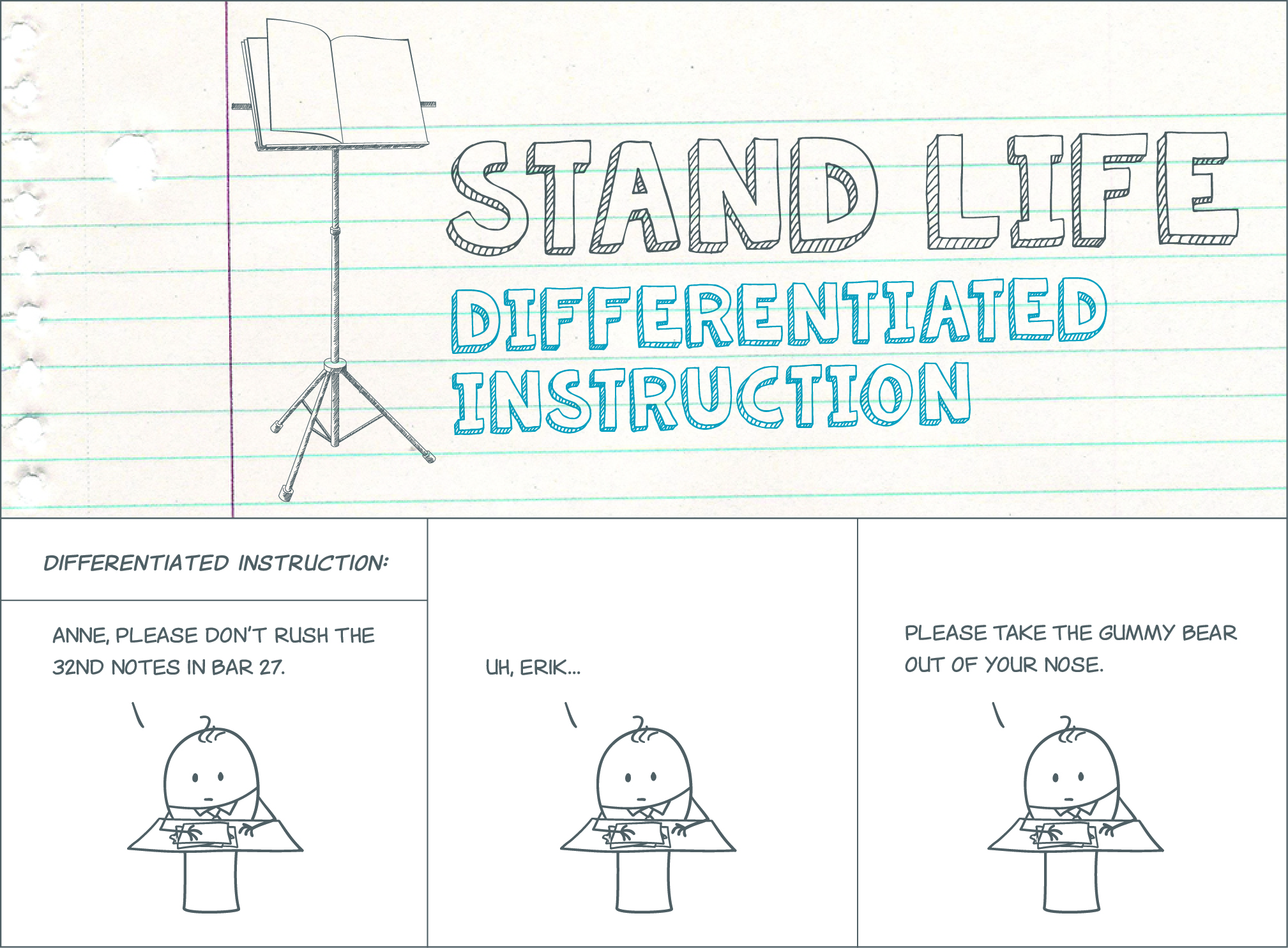 differentiated instruction in music education