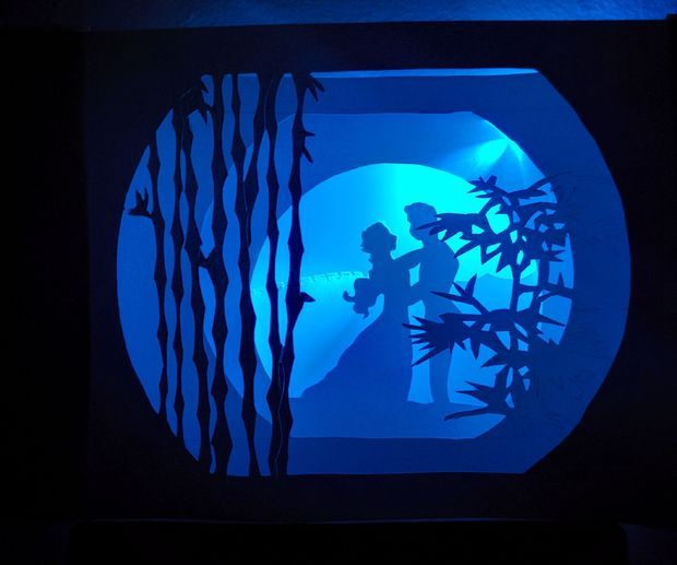 light shadow box instructables