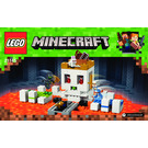 lego minecraft micro world the end instructions