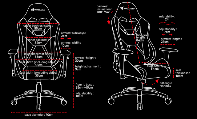 pulse labs gaming chair assembly instructions
