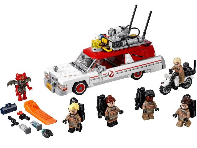 ghostbuster lego instructions 75828